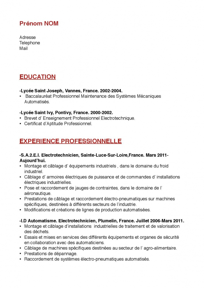 canada  pvt canada 2014  les questions sur le cv pour la candidature