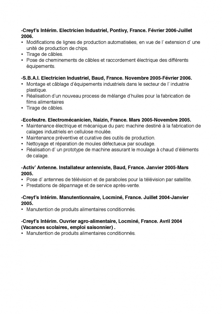 canada  pvt canada 2014  les questions sur le cv pour la