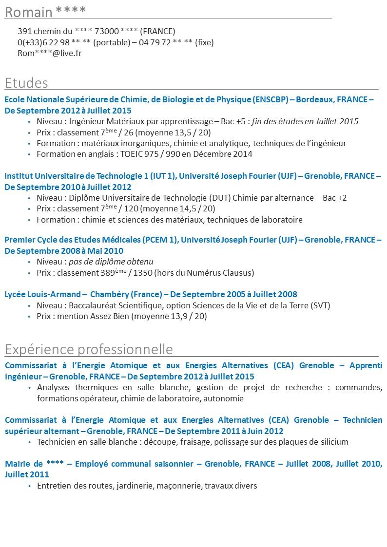 canada eic canada 2015   le cv pour la demande de pvt  jp