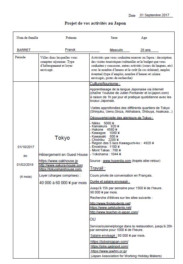 Lettre Motivation Programme Pvt Japon Page 54