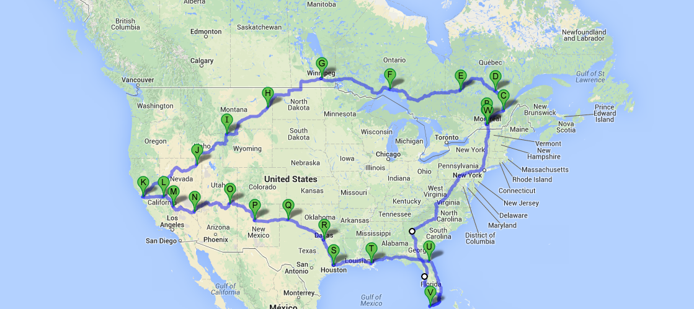 Assez Canada Recrutement pour roadtrip USA-Canada pendant 2 mois ZY27
