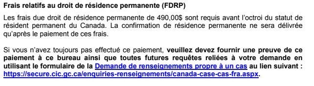 guide demande de residence permanente