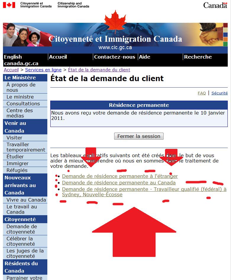 guide demande de residence permanente au canada