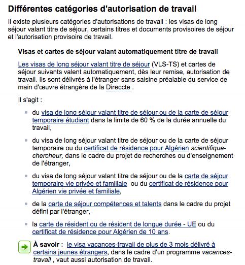 France Informer Vos Employeurs De Votre Autorisation De Travailler