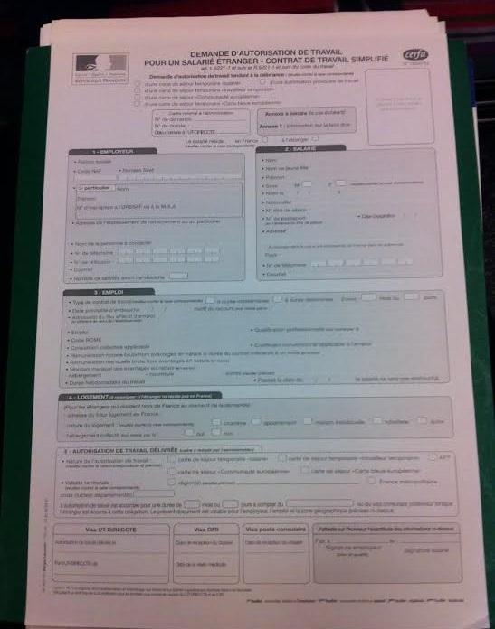 France Plus Besoin D Autorisation Provisoire De Travail Page 2