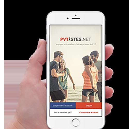 Téléchargez l'application PVTistes.net