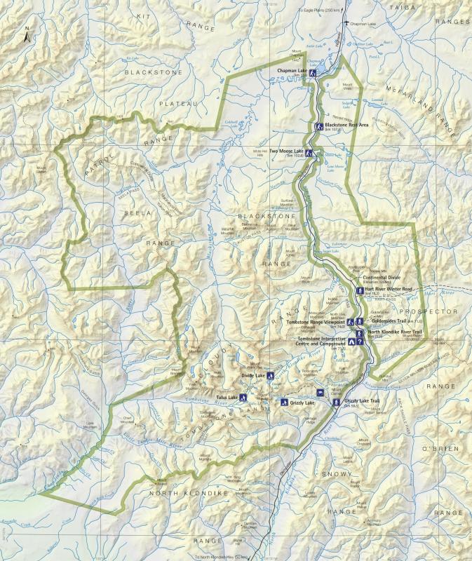 Carte-Tombstone-Territorial-Park