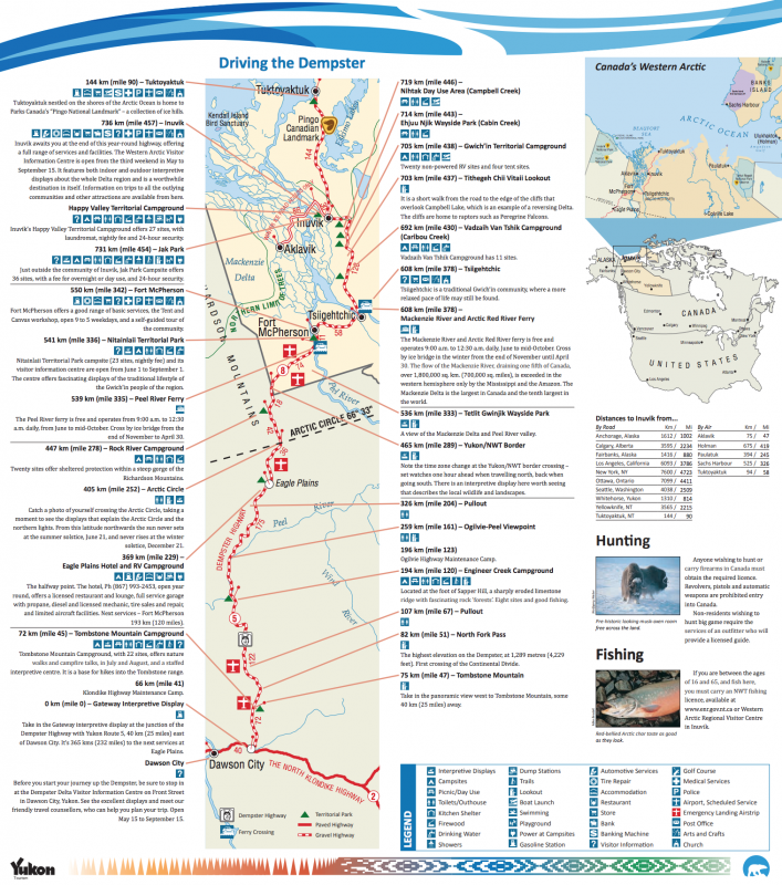 Route-Dempster-Hihgway