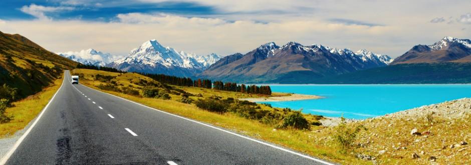 Nouvelle Zélande Photo: Faire Du Stop En Nouvelle-Zélande