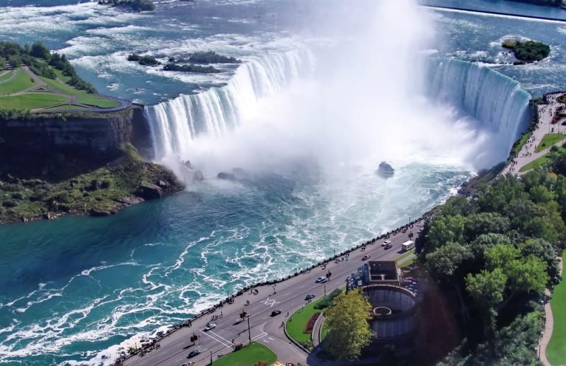 Carte de Chutes du Niagara - Htels et activits sur le