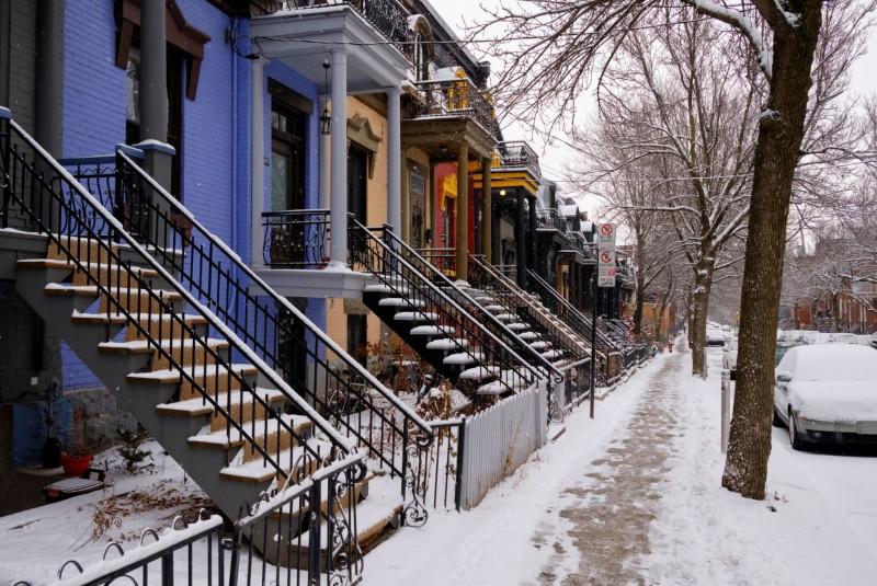 escaliers montreal canada