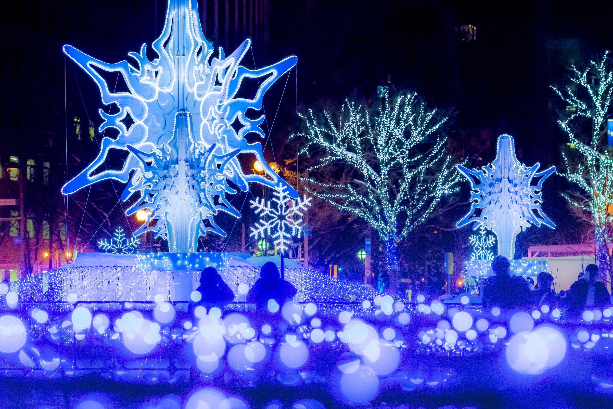 Festival neige Sapporo Japon 1