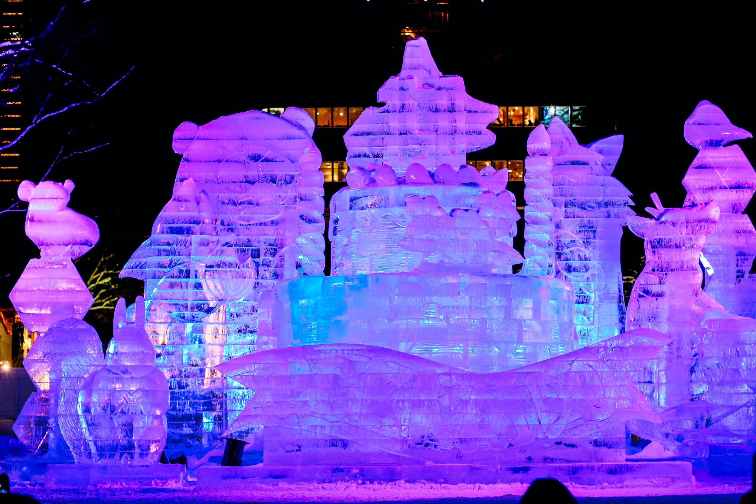 Festival neige Sapporo Japon 2