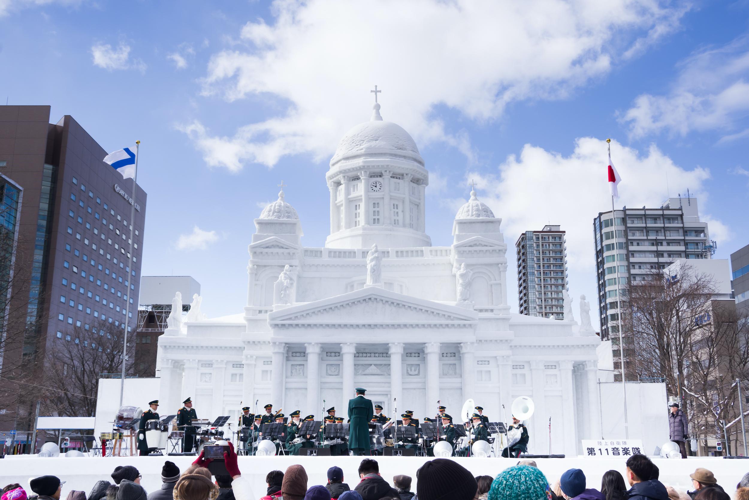Festival neige Sapporo Japon 3