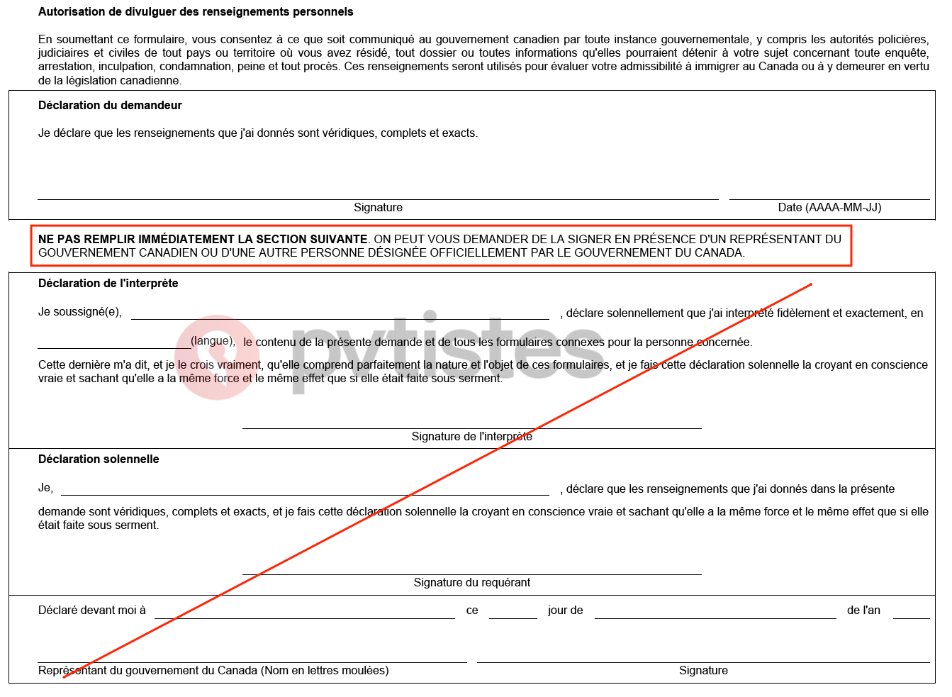 toriel Residence Permanente Canada - Federal 16