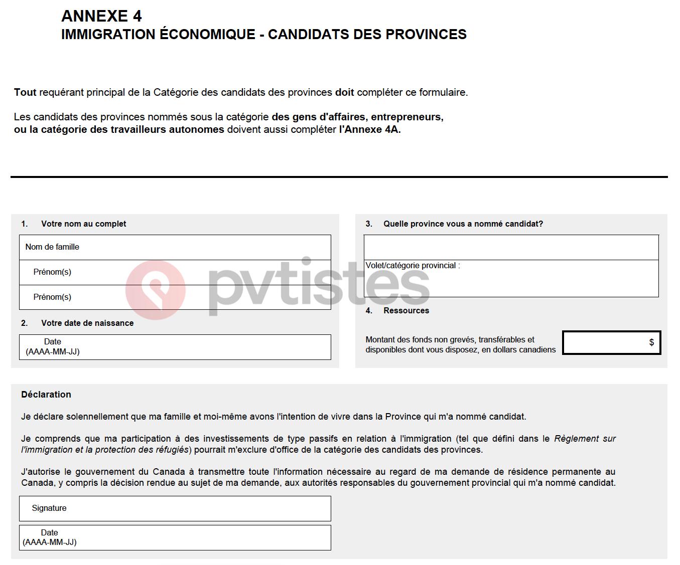 toriel Residence Permanente Canada - Federal 21