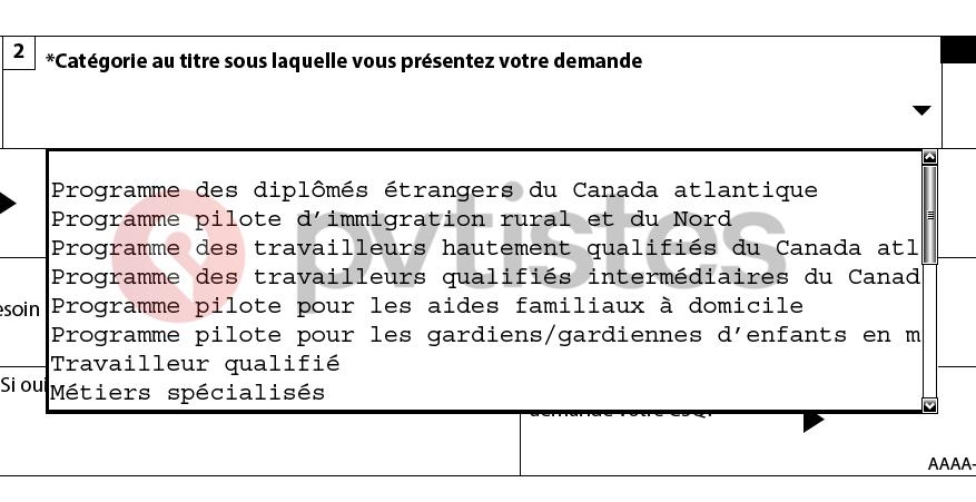 toriel Residence Permanente Canada - Federal 3