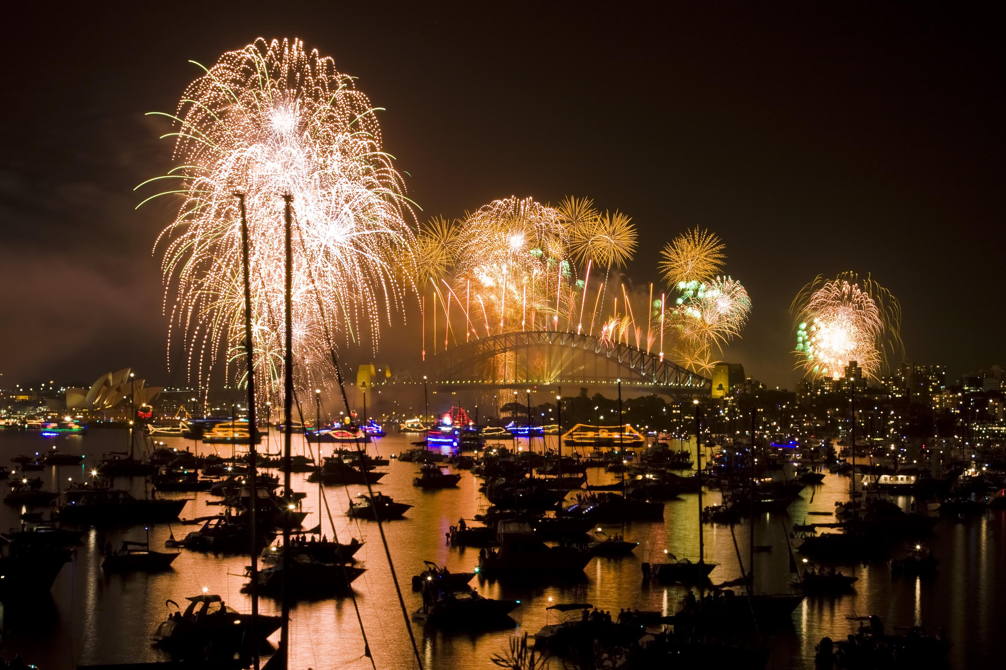 Sydney : o�� dormir le soir du Nouvel an ?