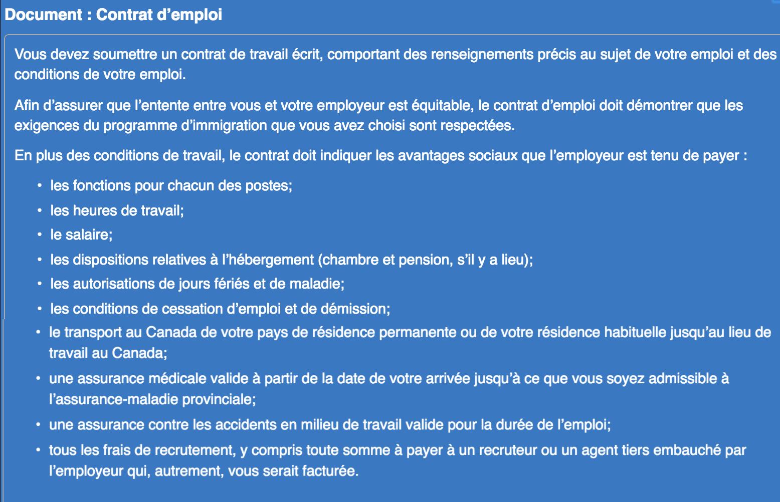 le permis de travail sans eimt gr u00e2ce  u00e0 mobilit u00e9