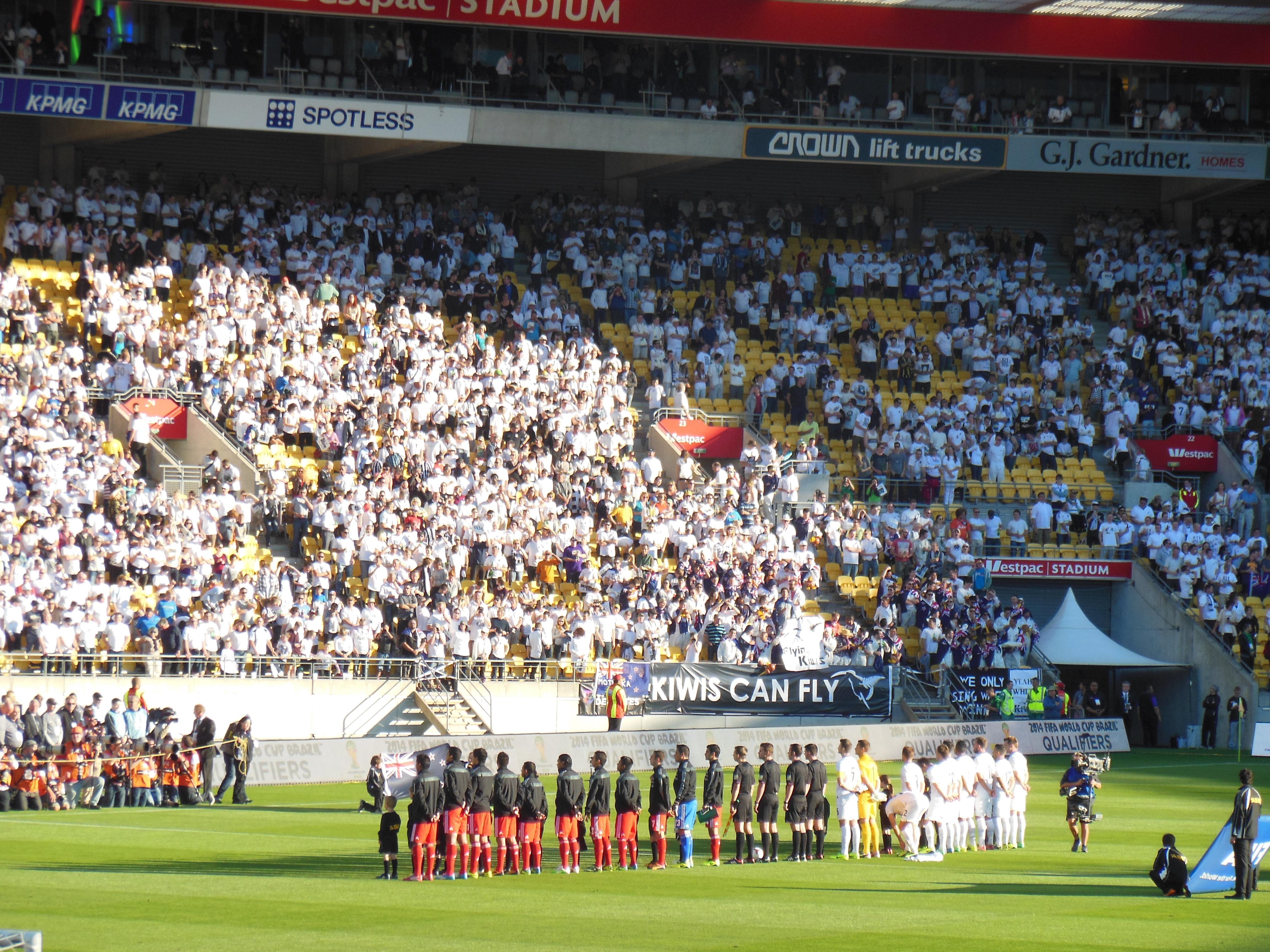 Football Nouvelle-Zélande coupe du monde