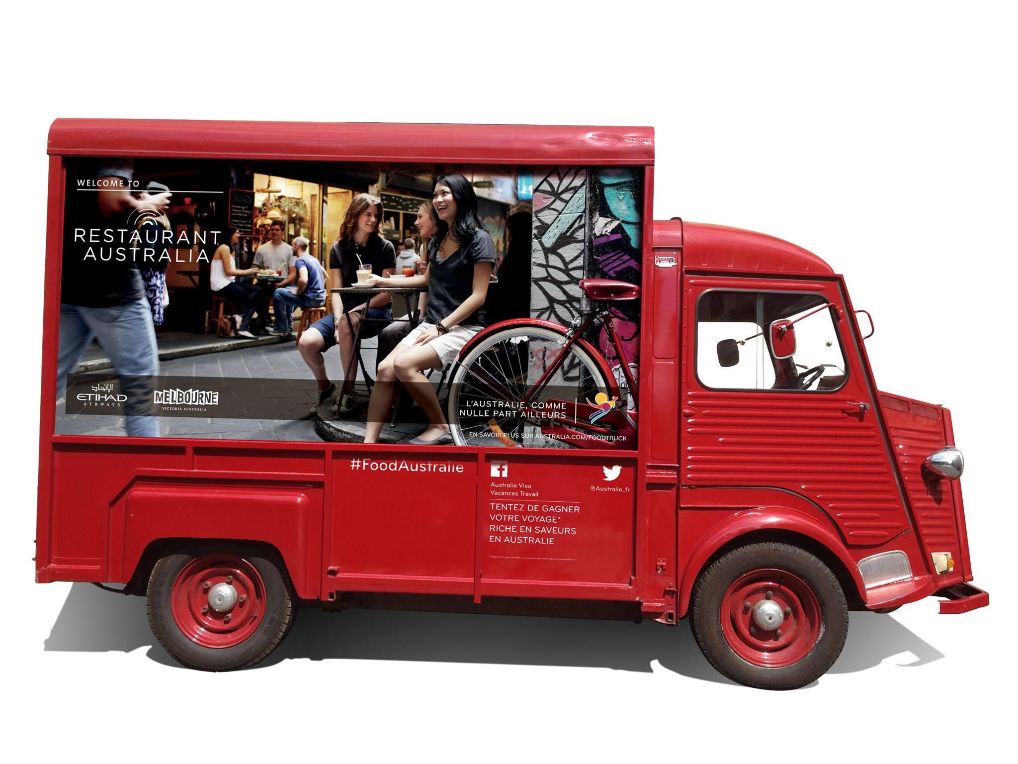 un food truck australien dans les rues de paris. Black Bedroom Furniture Sets. Home Design Ideas