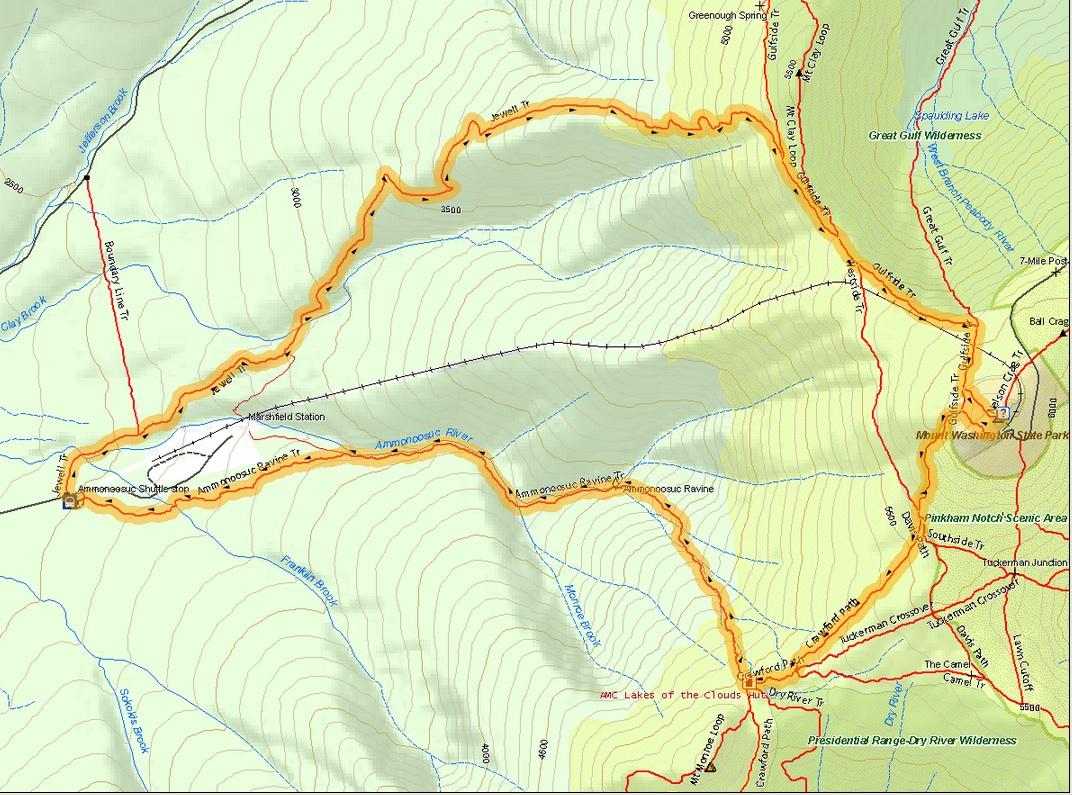 mont washington randonnée
