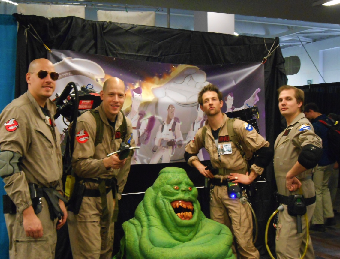 Fanexpo benevol ghost busters