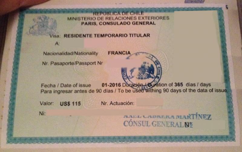 visa masque copie