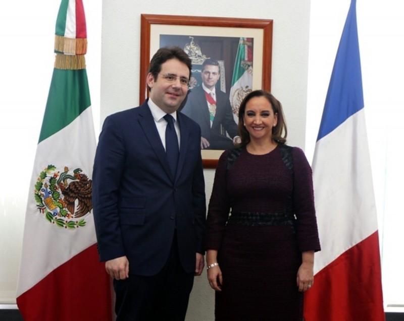 PVT Mexique - Matthias Fekl - Claudia Ruiz Massieu