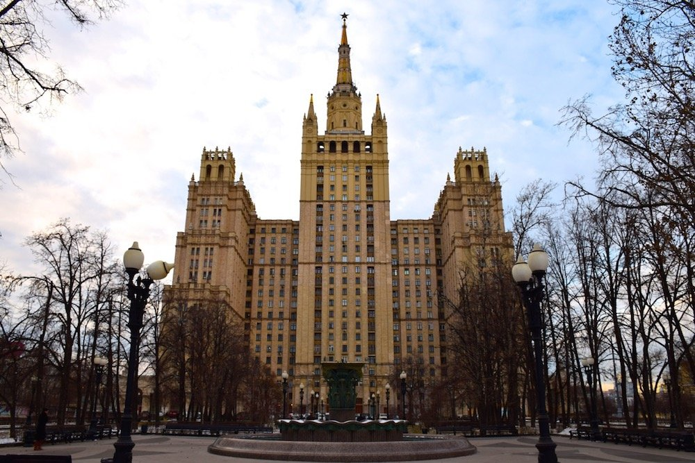 PVT a Moscou - Tour Stalinienne