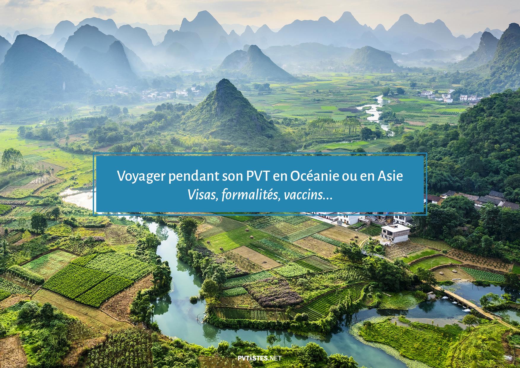 Tourisme en Asie et dans le Pacifique - Visas et Vaccins