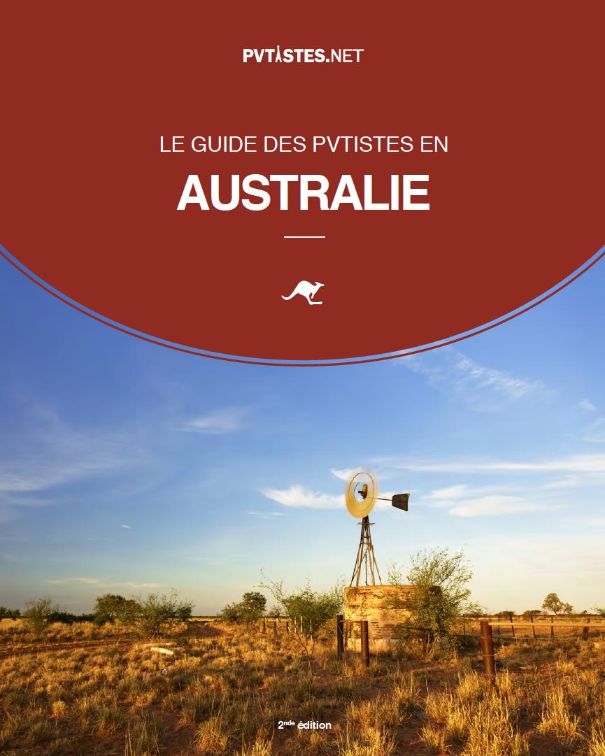 Guide des pvtistes en Australie - couverture