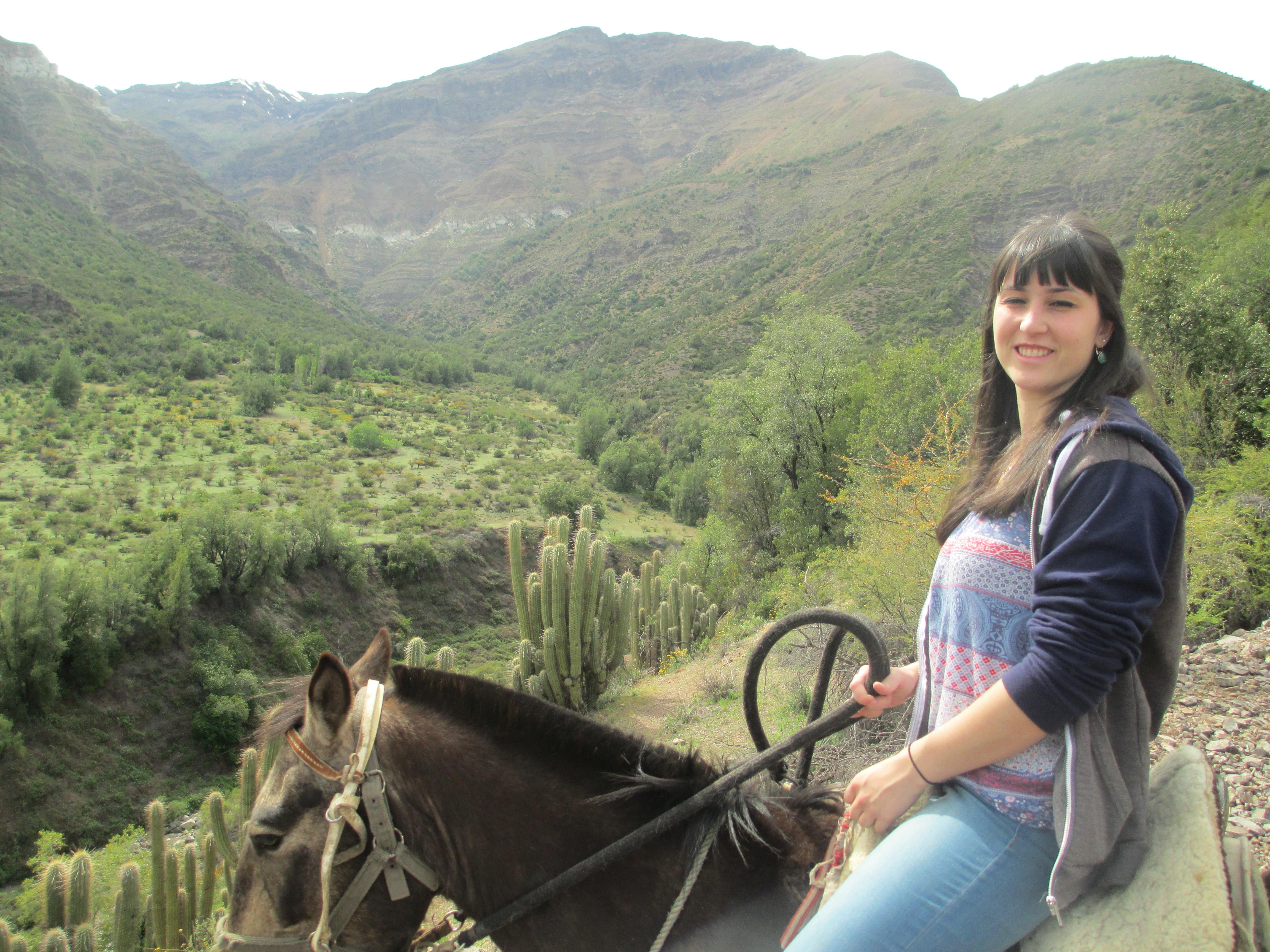 Lucile - Travail au Chili - Cajon del maipo (2)