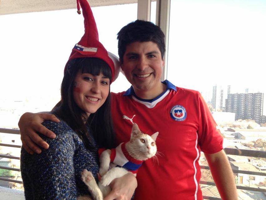 Lucile - Travail au Chili - Copain