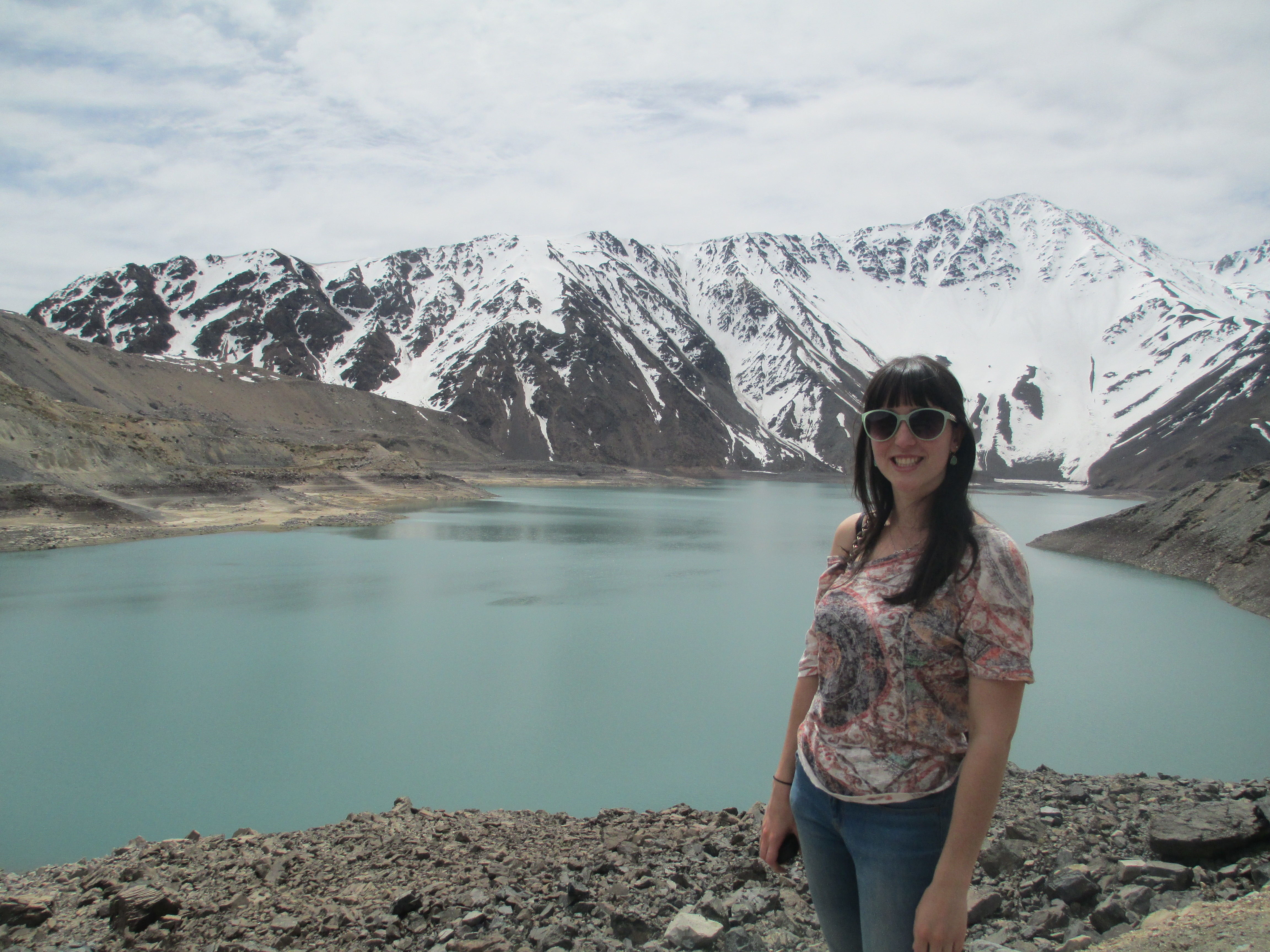 Lucile - Travail au Chili -  Embalse del yeso