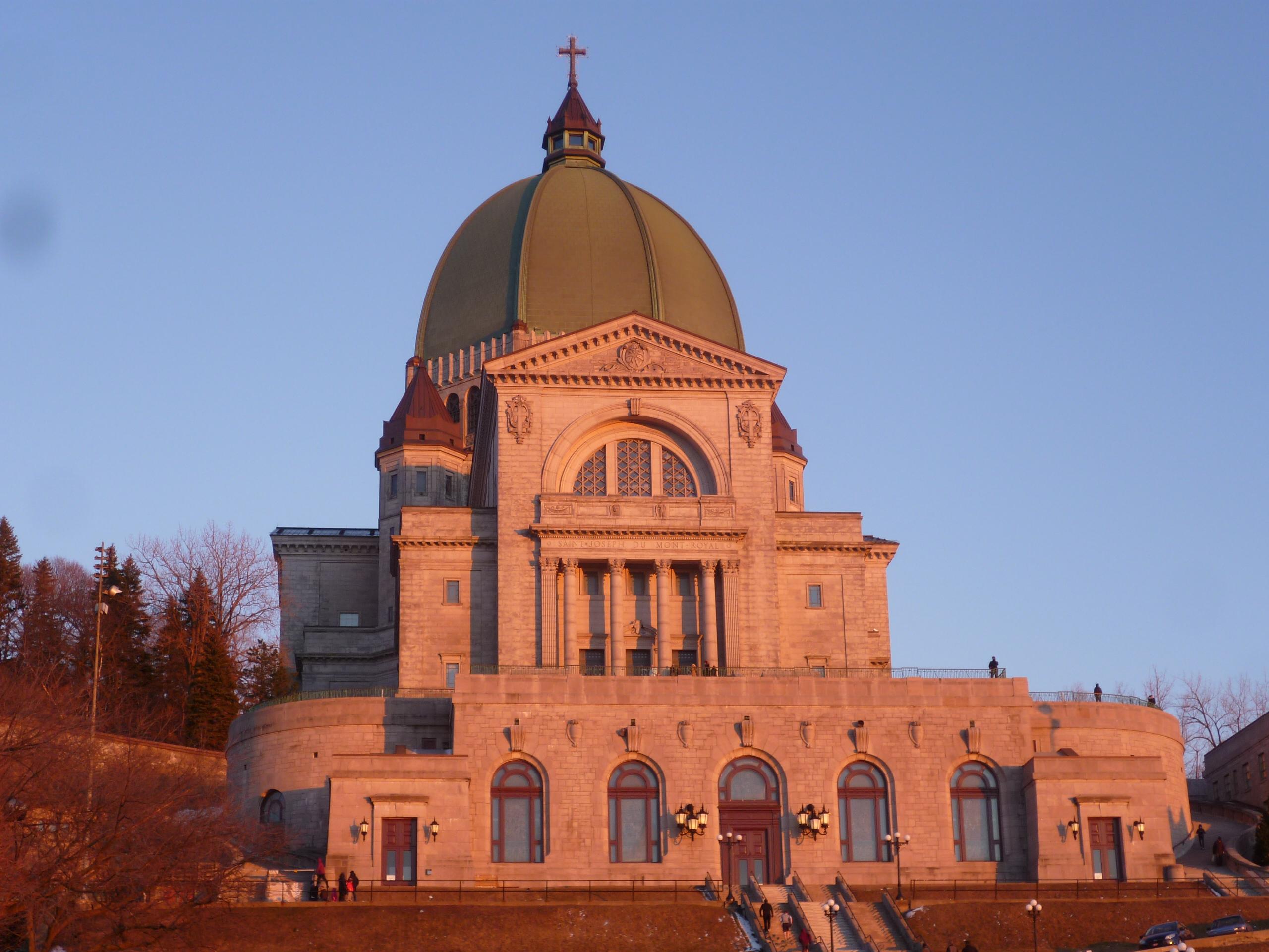 Premieres impressions à Montreal - Oratoire St Joseph