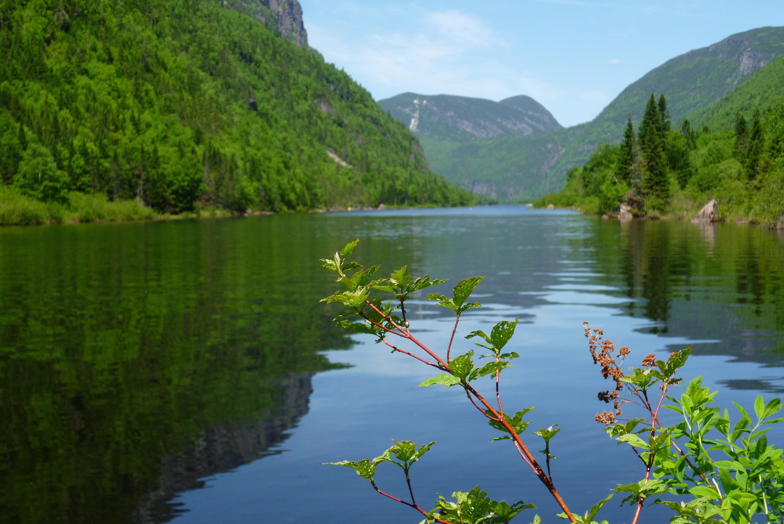 Acheter un van au Canada - Riviere Malbaie