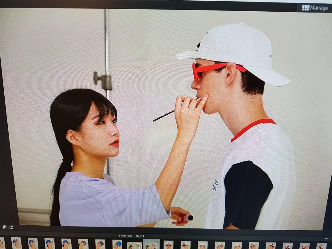 Alexis - Devenir mannequin en Coree - Maquillage