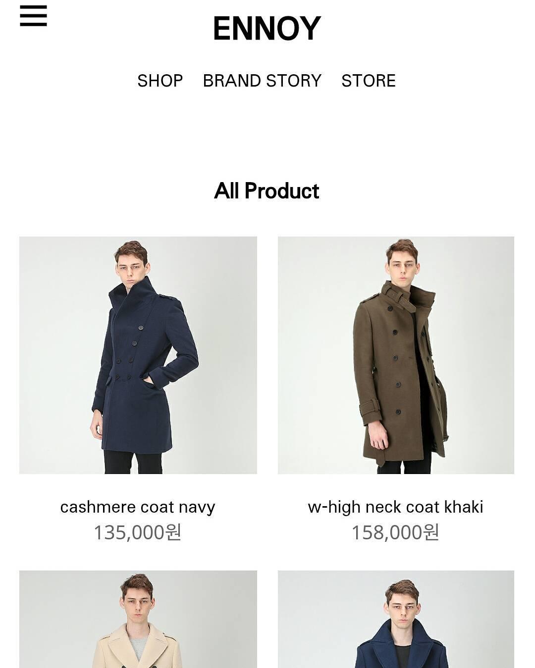 Alexis - Devenir mannequin en Coree - Site de vente en ligne