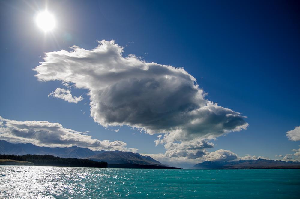 Lake Pukaki beau teps