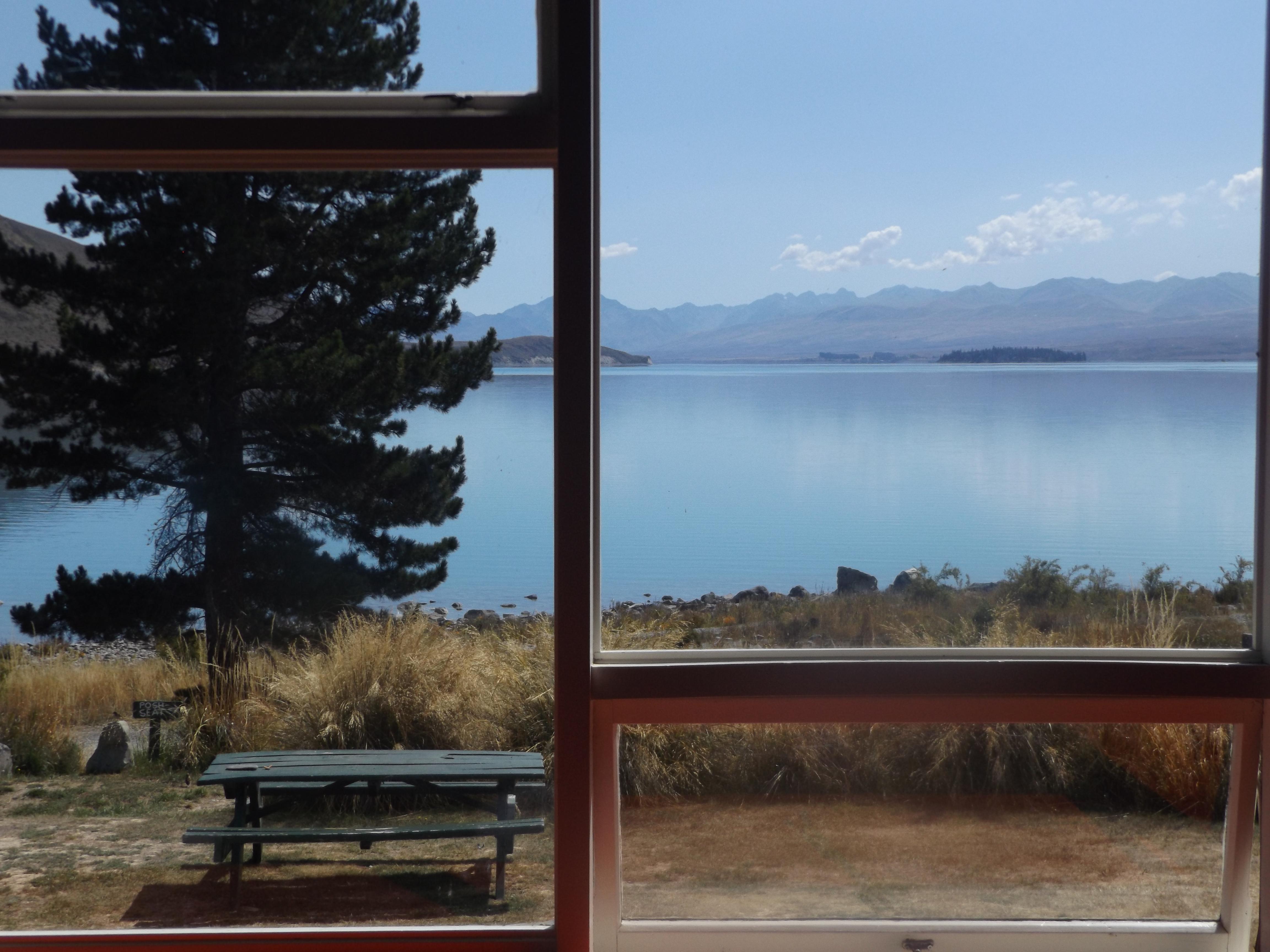 Lake Tekapo depuis le YHA