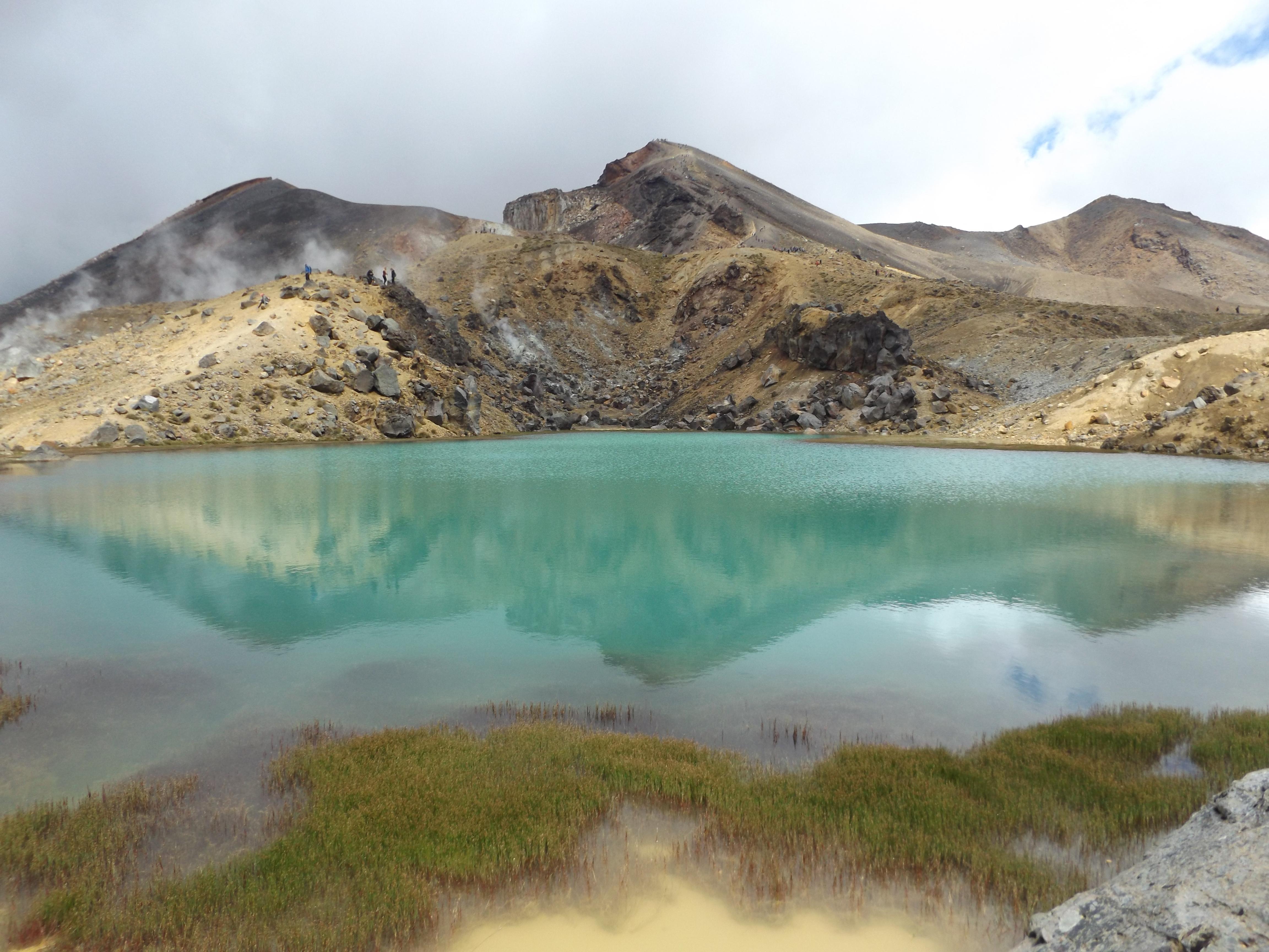 Petit Lac sur le parcours de l'Alpine Tongariro Crossing