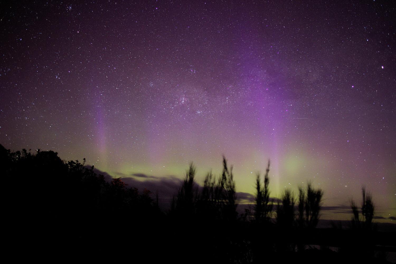 Stewart Island Aurores Australes