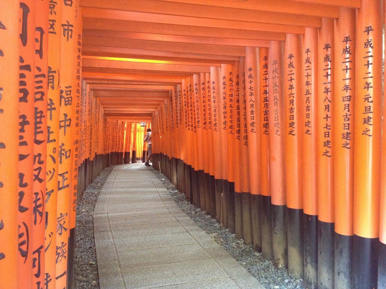PVT - Estheticienne au Japon - Fushimi inari taisha