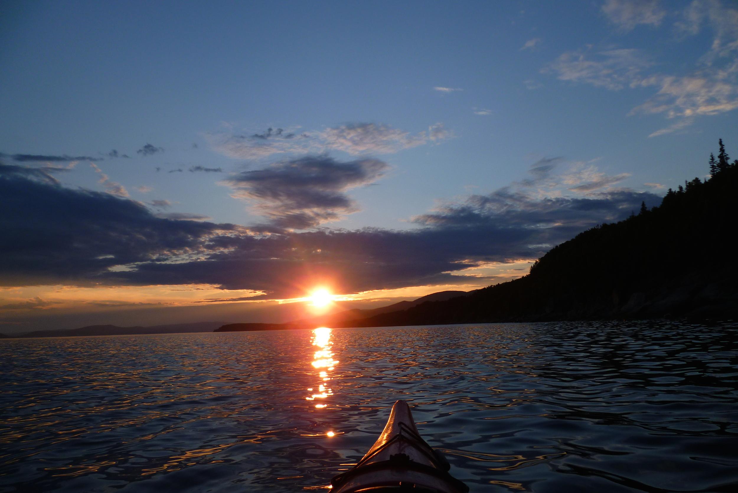 Kayak - parc Forillon - Canada 2