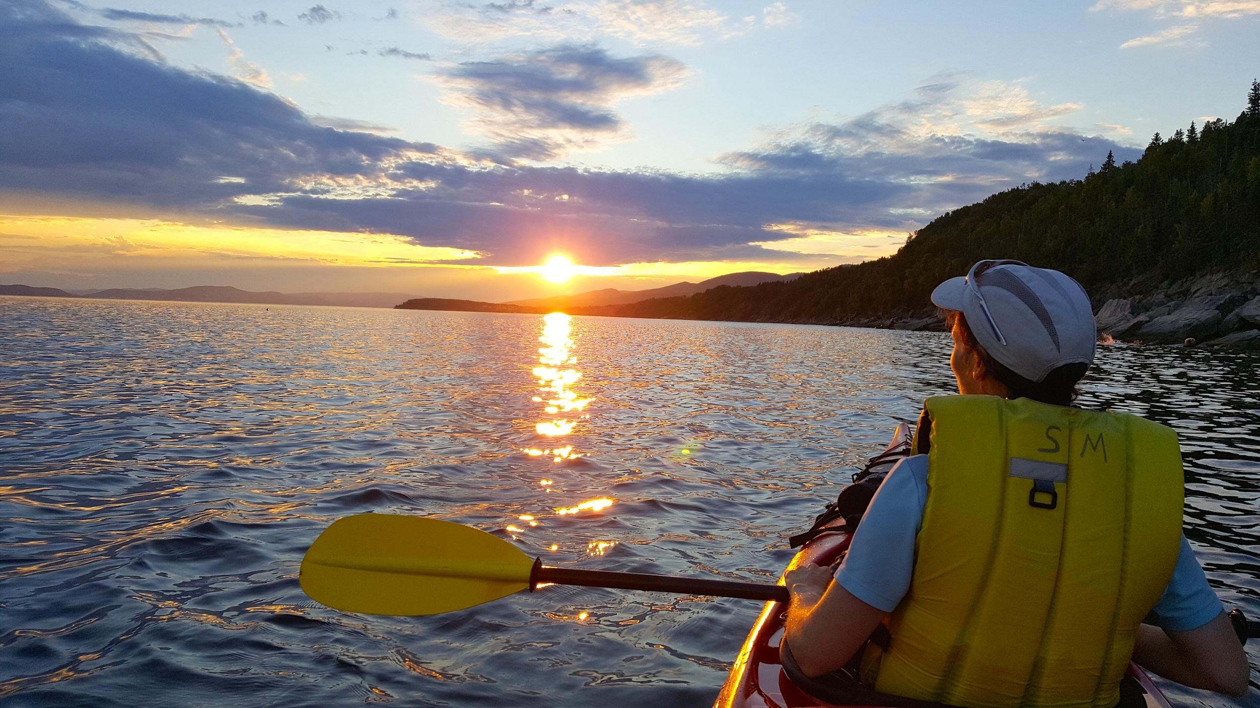 Kayak - parc Forillon - Canada