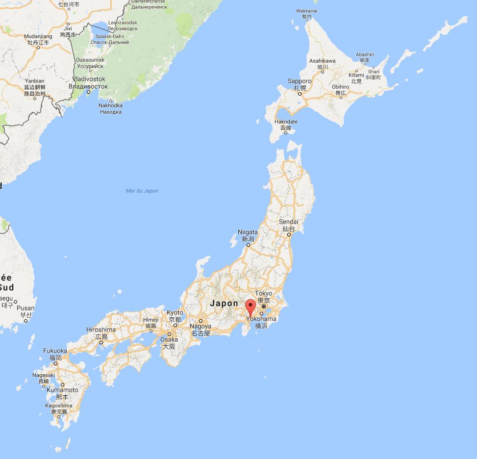 Carte - Ryoh japonais serial PVTiste
