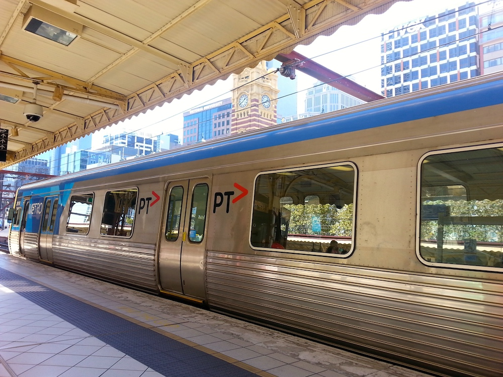 Train - WHV a Melbourne - Australie