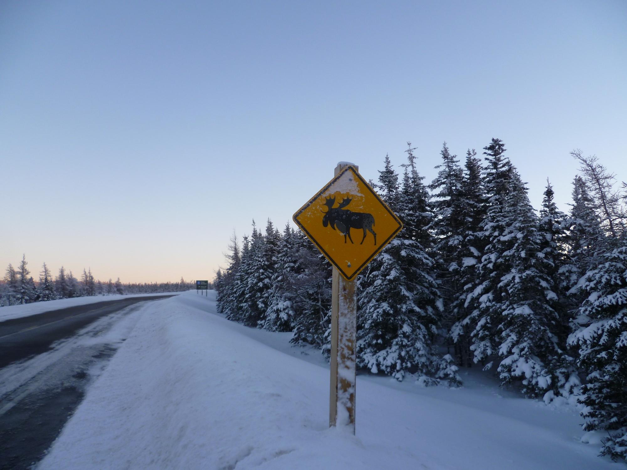 Hiver au Canada - Cabot Trail, Cap Breton
