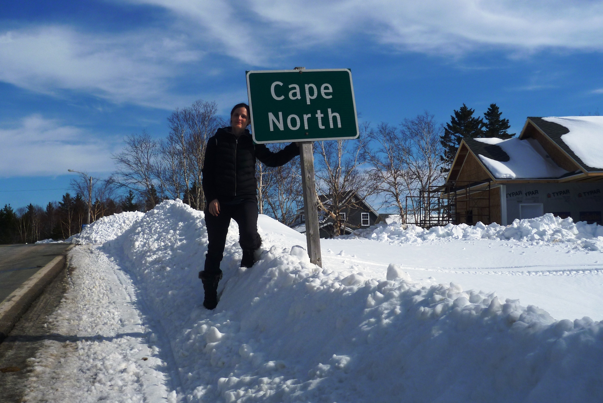 Hiver au Canada - Cape North, Cabot Trail